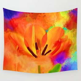Spring Full Of Color Wall Tapestry