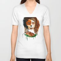 bambi V-neck T-shirts featuring Bambi by maumel