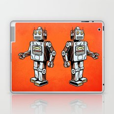 Retro Robot Toy Laptop & iPad Skin