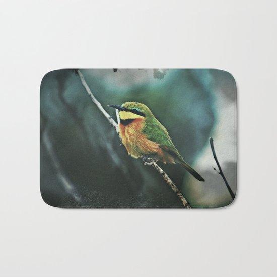 African Little Bee-Eater Bird Bath Mat