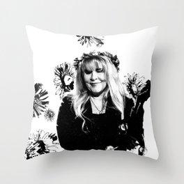 bella donna Throw Pillow