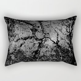 Dallas map Texas Rectangular Pillow