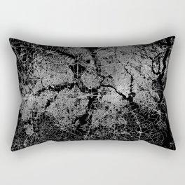 Dallas map Texas Rectangular Pillow