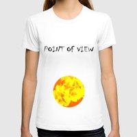 ali gulec T-shirts featuring Ali orange by Keren Shiker