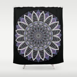 Southwest Mandala Purple Shower Curtain
