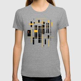 abstract architecure - skyscraper pattern T-shirt