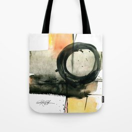 Enso Abstraction No. 107 by Kathy Morton Stanion Tote Bag