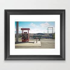 vantage. Framed Art Print