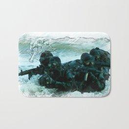 United States Navy Seals Bath Mat