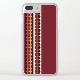 Peruvian Purple Clear iPhone Case
