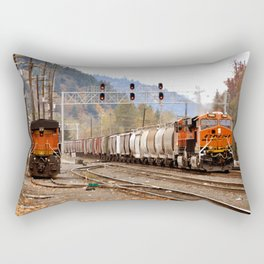 TRAIN YARD Rectangular Pillow