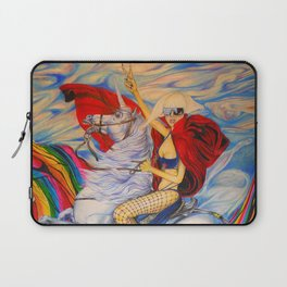 Fame Counquering the Mountain of Fame  Laptop Sleeve