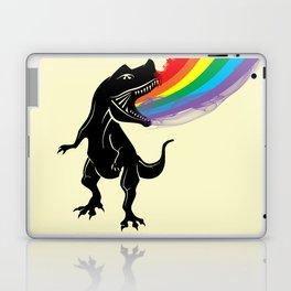 dinosaur rainbow Laptop & iPad Skin