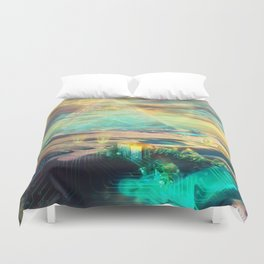 Mechanical life Duvet Cover