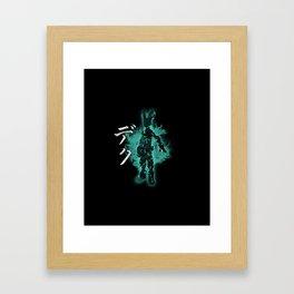 My Hero, Deku Framed Art Print