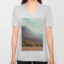 Mountains in the background V Unisex V-Neck
