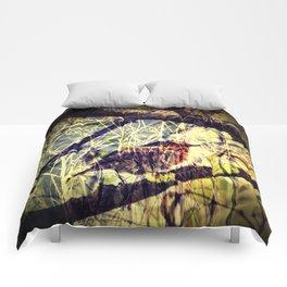 FLEW THE COOP Comforters