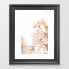Softness embraced Framed Art Print
