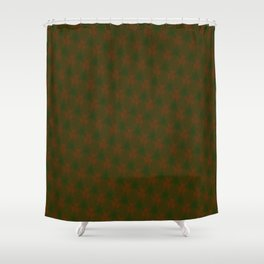 Misty Merry Trees Shower Curtain