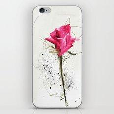 rose5 iPhone Skin