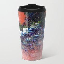 Poppy - Mixed Media Acrylic Abstract Modern Art, 2009 Travel Mug