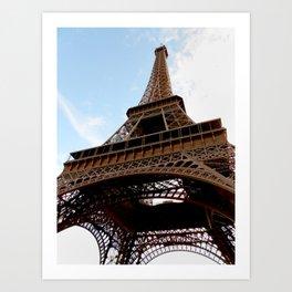 Eiffel Tower Photograph Art Print
