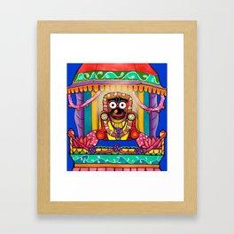 Lord Jagannatha Framed Art Print