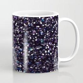 Iokasti Blue-Black Swarovski Coffee Mug