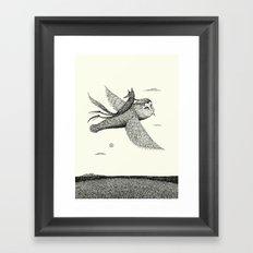 'Leaving' Framed Art Print
