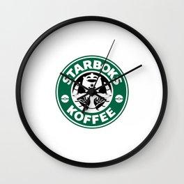 Starboks Koffee Wall Clock