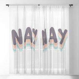 NAY Sheer Curtain