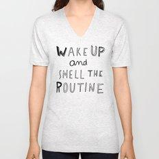 WAKE UP Unisex V-Neck