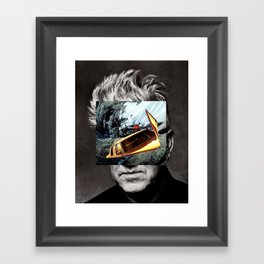 david-lynch Framed Art Print