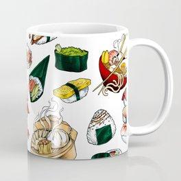 Sushi White Coffee Mug