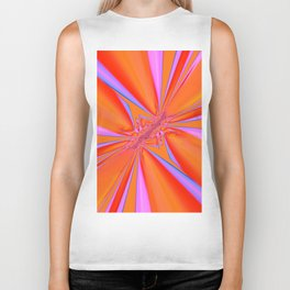 Orange dream Biker Tank