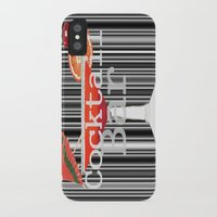 bar iPhone & iPod Cases featuring Cocktail Bar by Sartoris ART