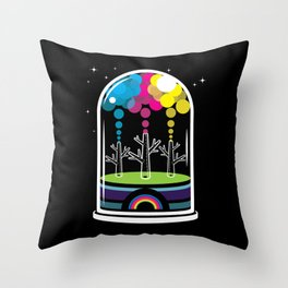Toy City Throw Pillow