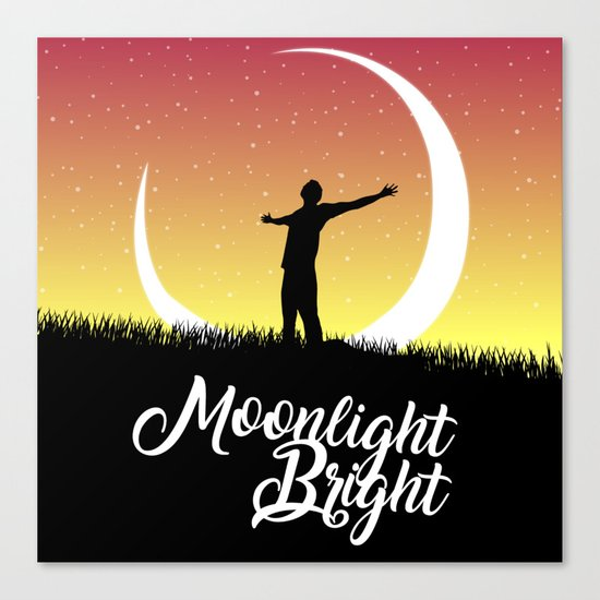 Moonlight Bright Canvas Print
