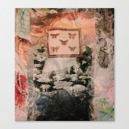 Muddled Daiseys Canvas Print