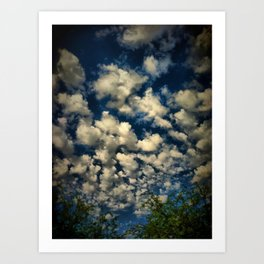 Clouds IV Art Print