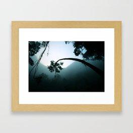 Mist Tilt Framed Art Print