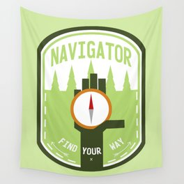 Navigator - Color Wall Tapestry