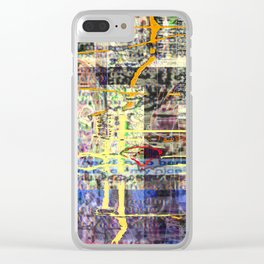 Uptown (With Stinky Cat!) [A.N.T.S. Series] Clear iPhone Case