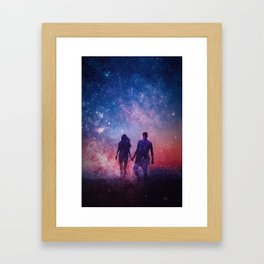 While it lasts Framed Art Print