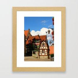 A Geman Village Framed Art Print