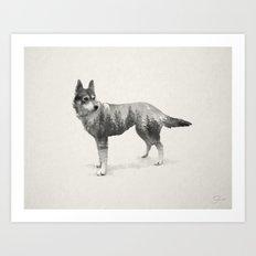 Ghost Dog - Coco Art Print