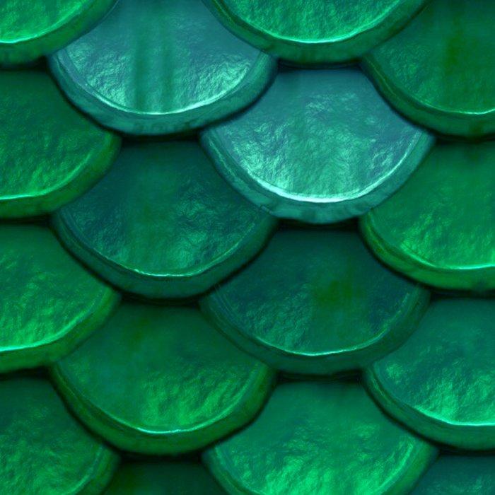 Green Penny Scales Leggings