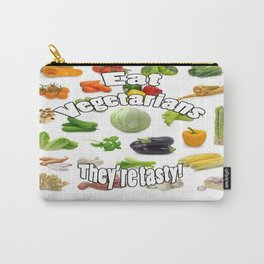 Eat A Vegetarian Carry-All Pouch