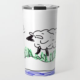 Baa Sheep Travel Mug