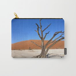 Skeleton tree in Namibia Carry-All Pouch